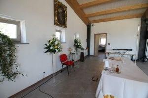 dietro altare Centro di Comunità Madonna delle Grazie