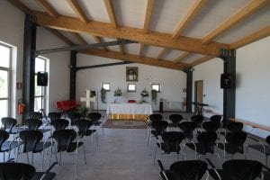 interno altare Centro di Comunità Madonna delle Grazie