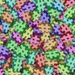 la rete: un puzzle senza lezioni di social network